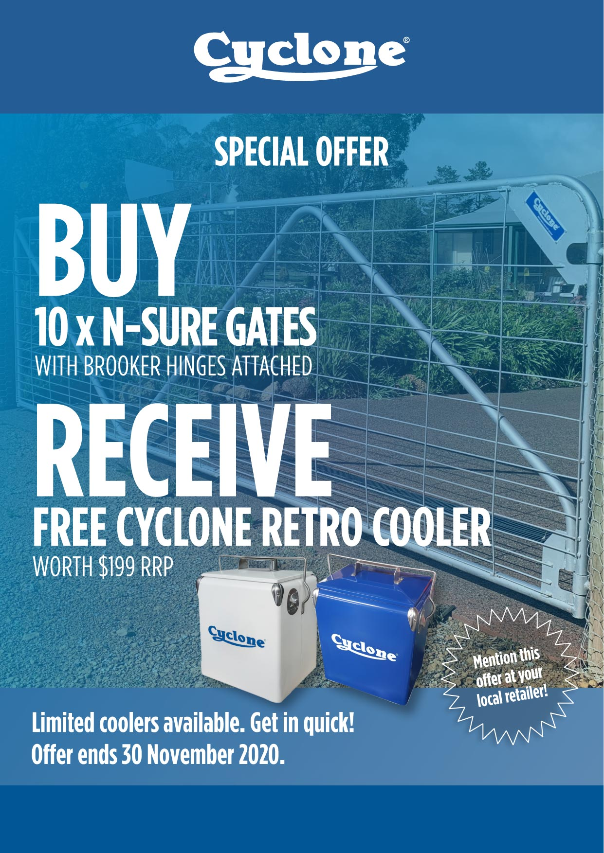 Cyclone Promotion
